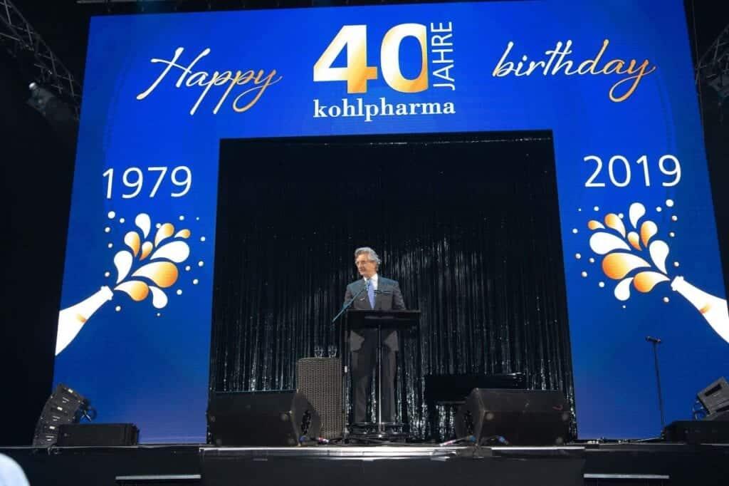 40 Jahre kohlpharma - Jubiläumsfeier