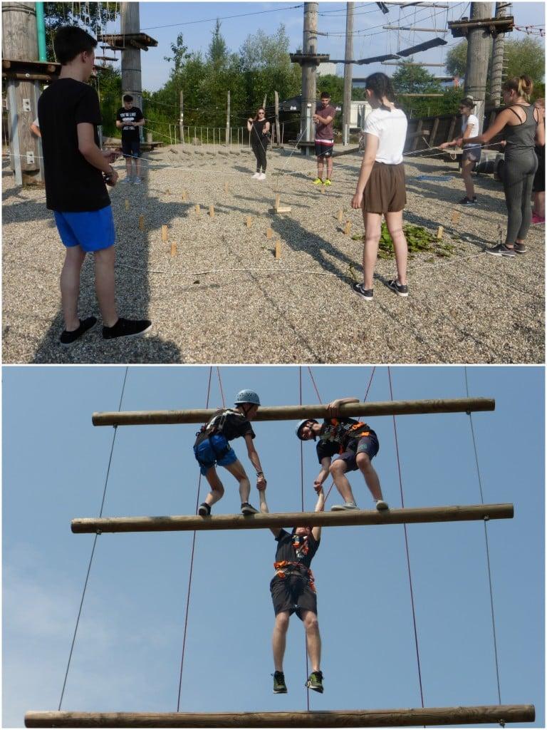 Ausbildung bei Kohlpharma - Azubiausflug - Kletterpark